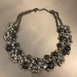 Bauble Bar Jeweled Necklace